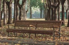 AGORA DOUBLE park bench