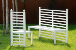 SIBILLA bench and chair